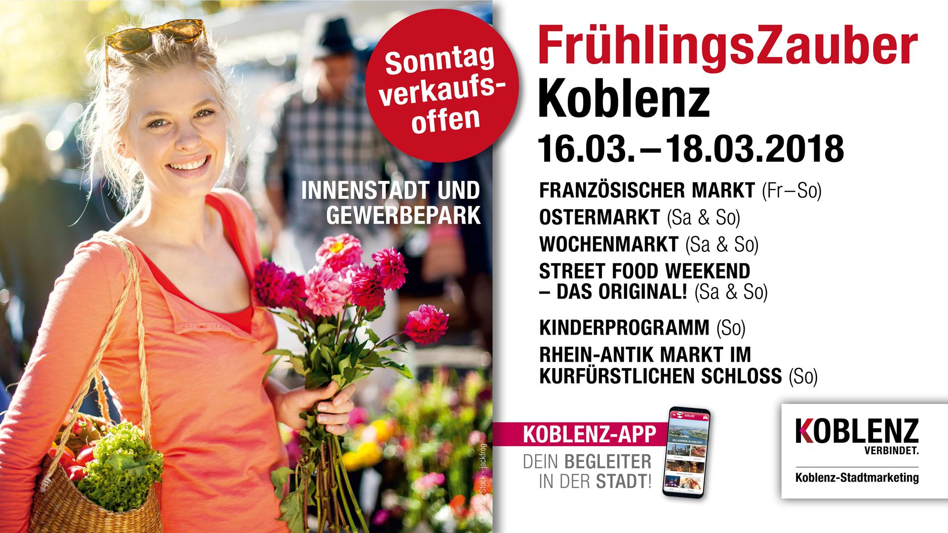Fruhlingszauber In Koblenz Koblenz Stadtmarketing