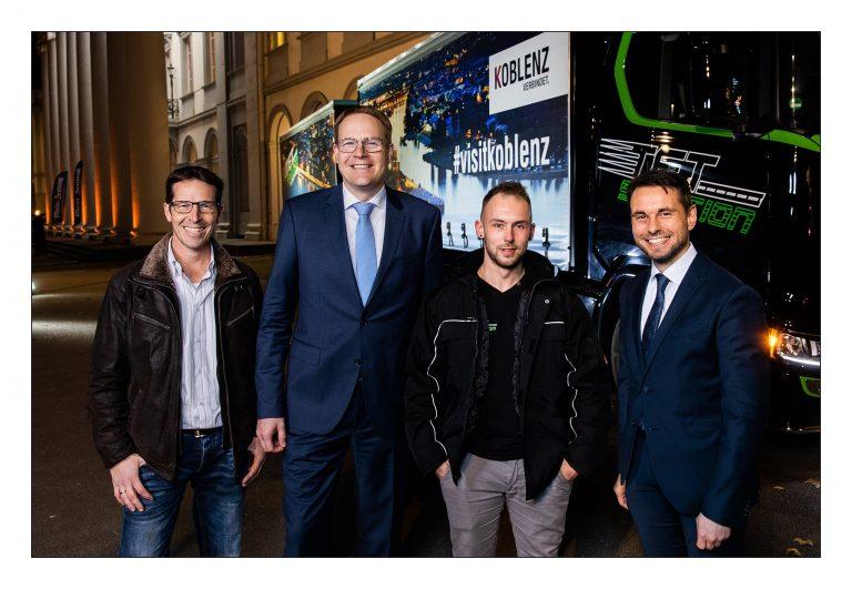 Koblenz-Truck wirbt für Rhein-Mosel-Stadt - Koblenz